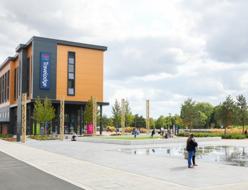 Travelodge with Retail & Leisure Units – Southwater, Telford