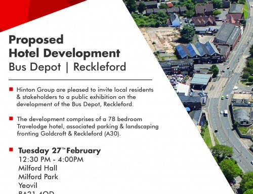 Public Consultation – Proposed Development – Bus Depot, Reckleford, Yeovil
