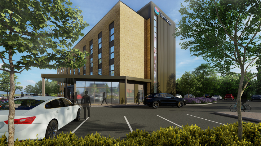 Planning Consent For Travelodge Costa And Greene King At