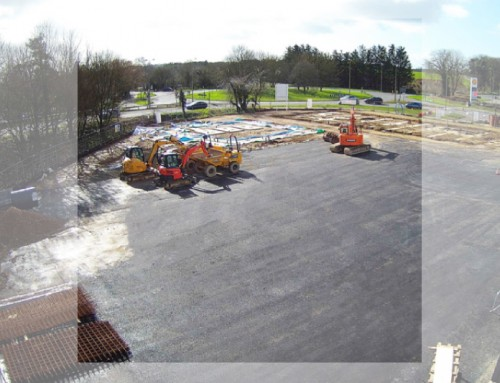 Witney: Ready for steel frame to commence